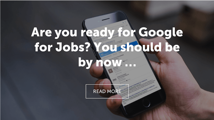 That Little Agency | Homepage Driver | Google For Jobs Blog Image