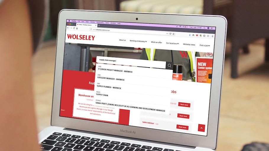 That Little Agency | Employer Branding | Careers Website| Wolseley Careers Website Universal Search Image