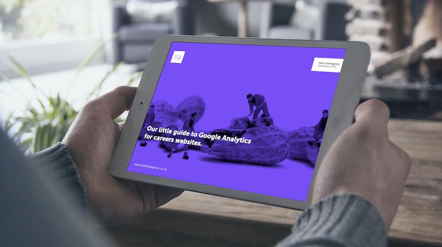 That Little Agency | Careers Websites | Google Analytics | Download Image