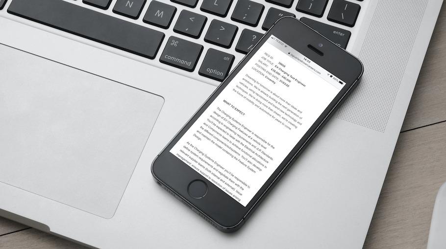 That Little Agency - Employer Branding - Careers Websites - Jaguar Landrover SAP Image